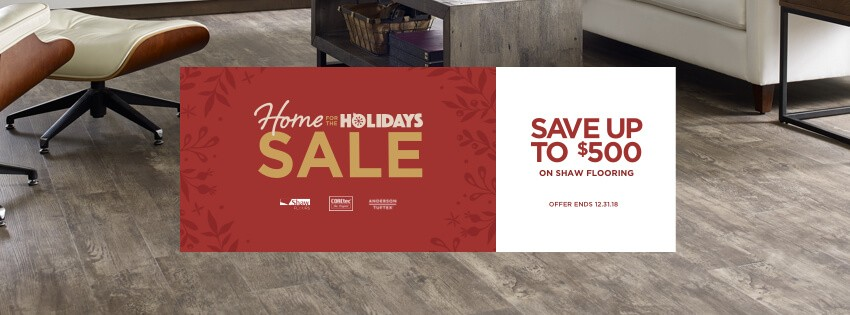 Home Holidays Sale Banner | IQ Floors