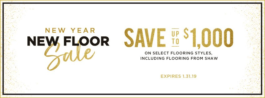 New Year New Floor Sale | IQ Floors