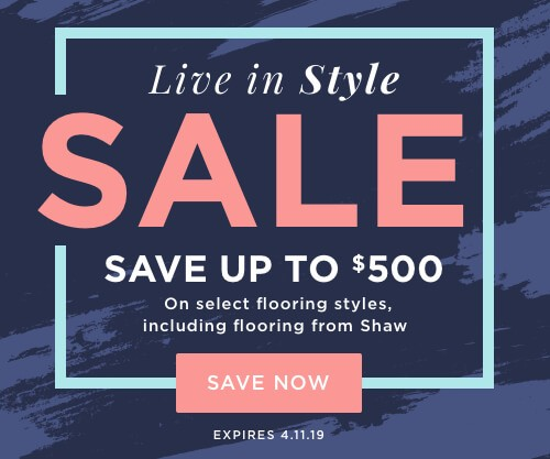 Live In Style Sale | IQ Floors