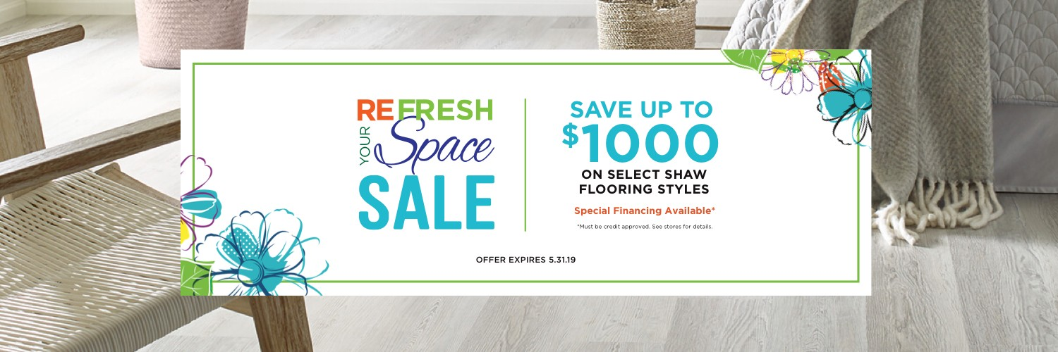 Refresh Your Space Sale | IQ Floors