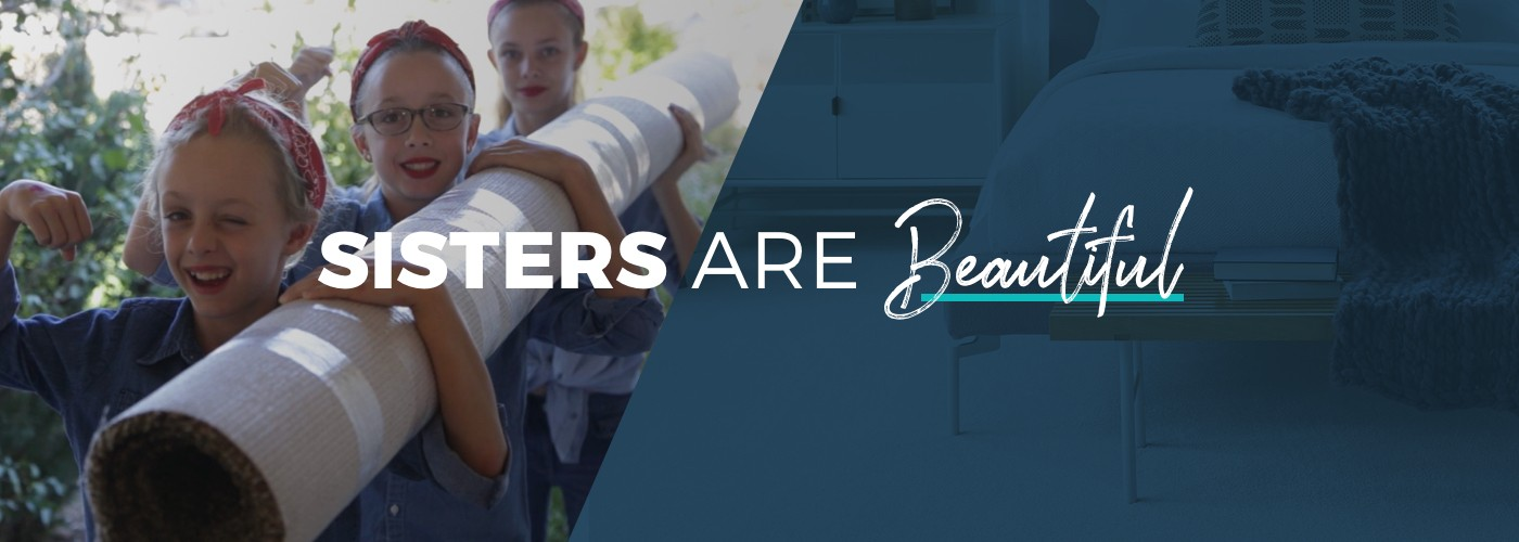 Sisters Are Beautiful Banner | IQ Floors