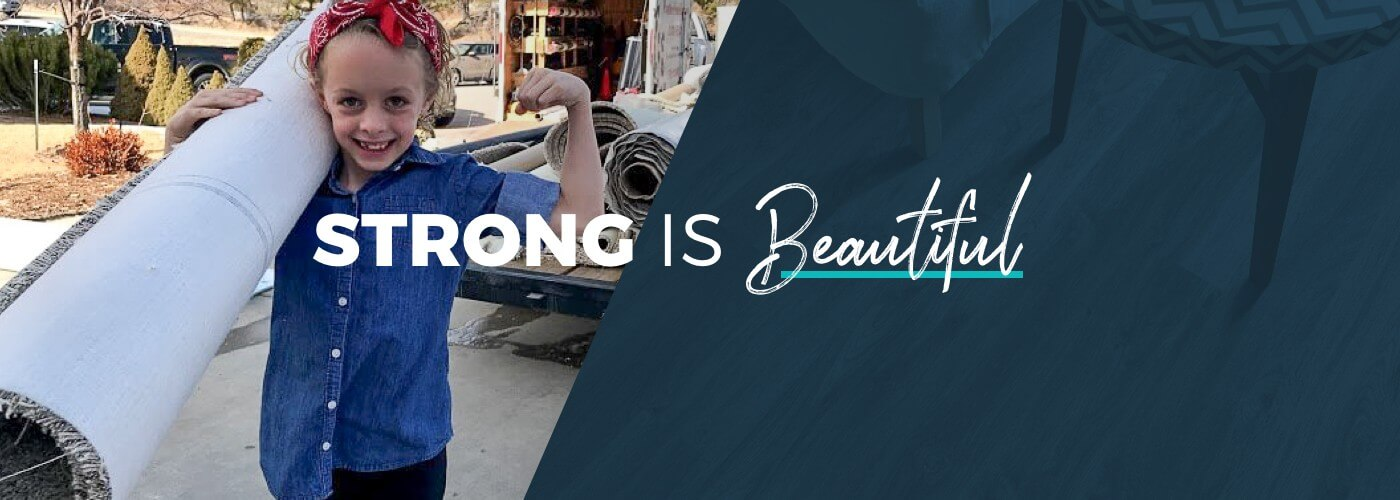 Strong Is Beautiful Banner | IQ Floors