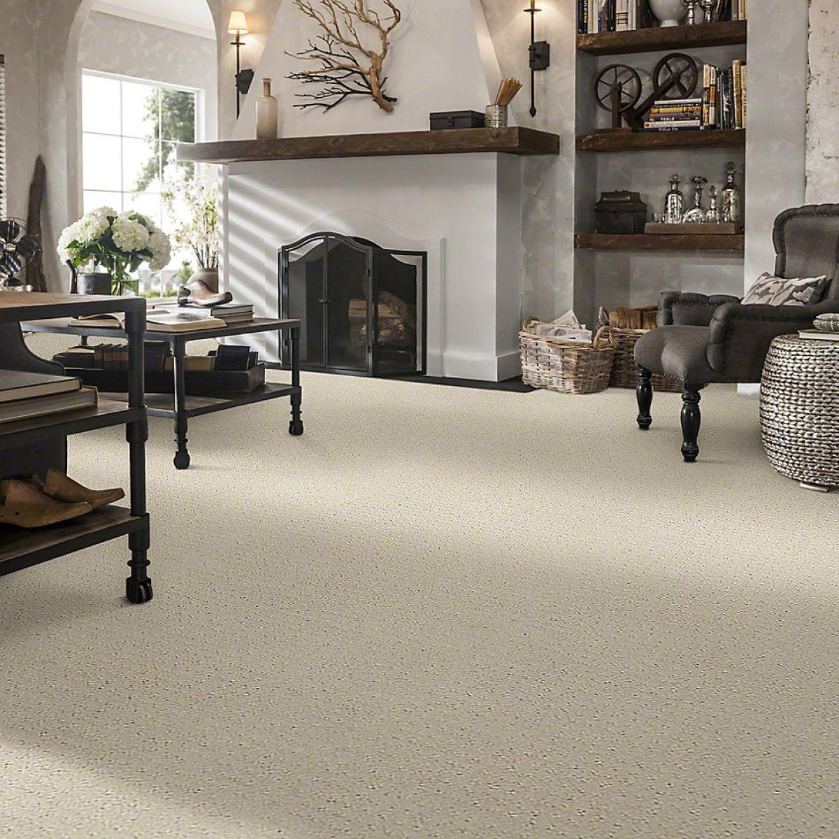 White Bedroom Carpet | IQ Floors