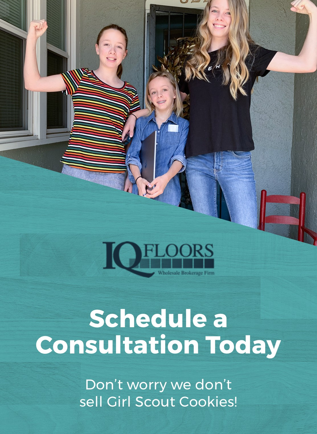 Schedule a Consultation Icon | IQ Floors