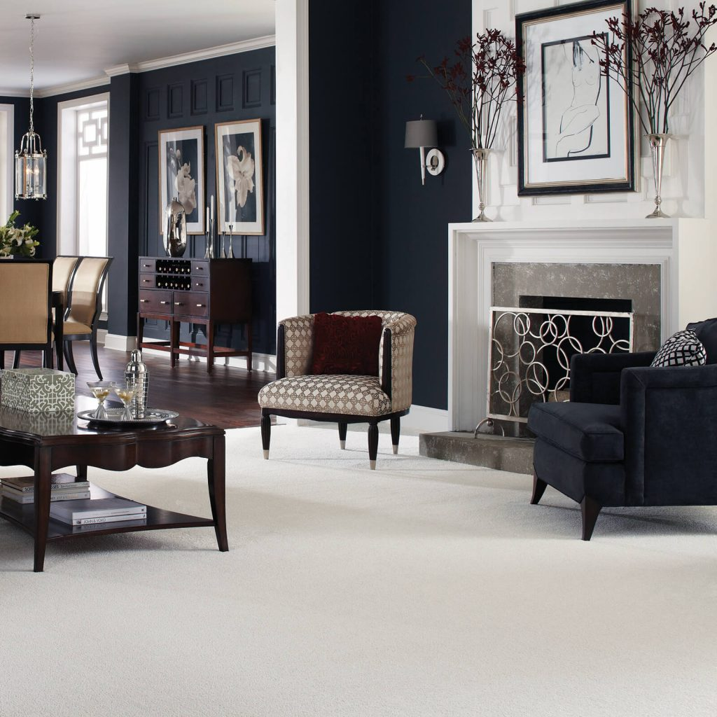 Carpet in living room | IQ Floors