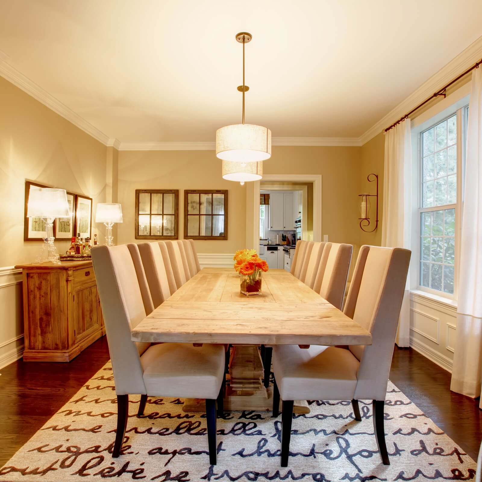 Dining room interior   IQ Floors