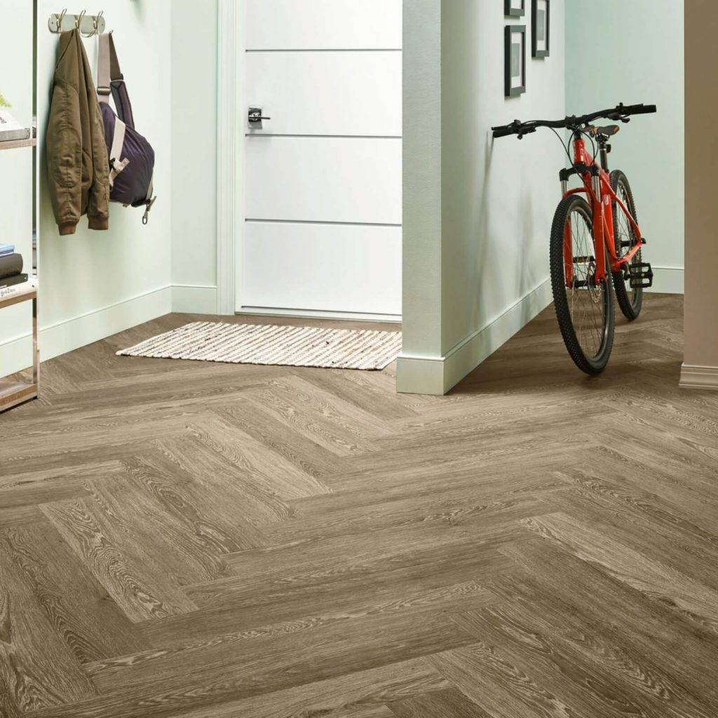 Bicycle on flooring | IQ Floors