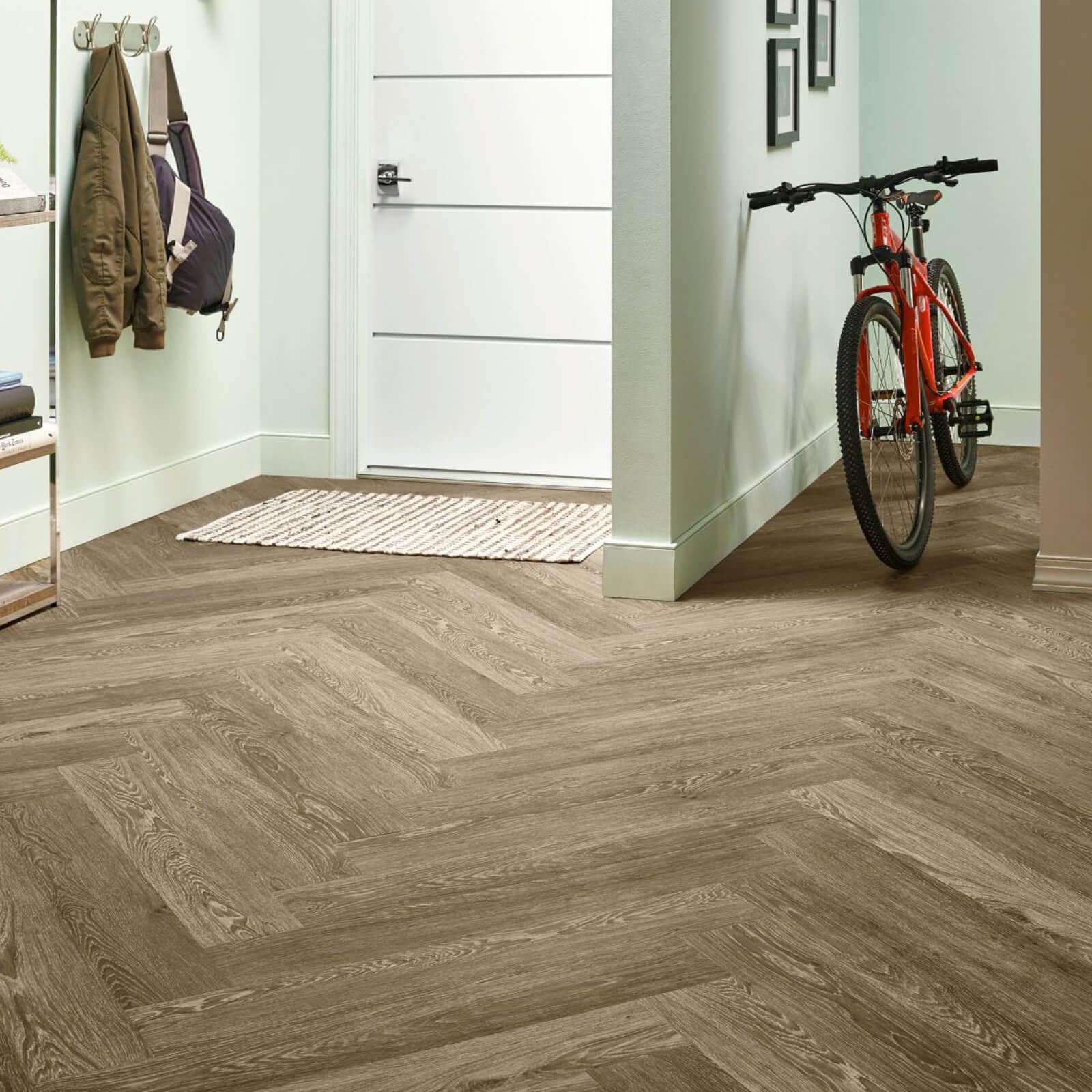 Bicycle on flooring   IQ Floors