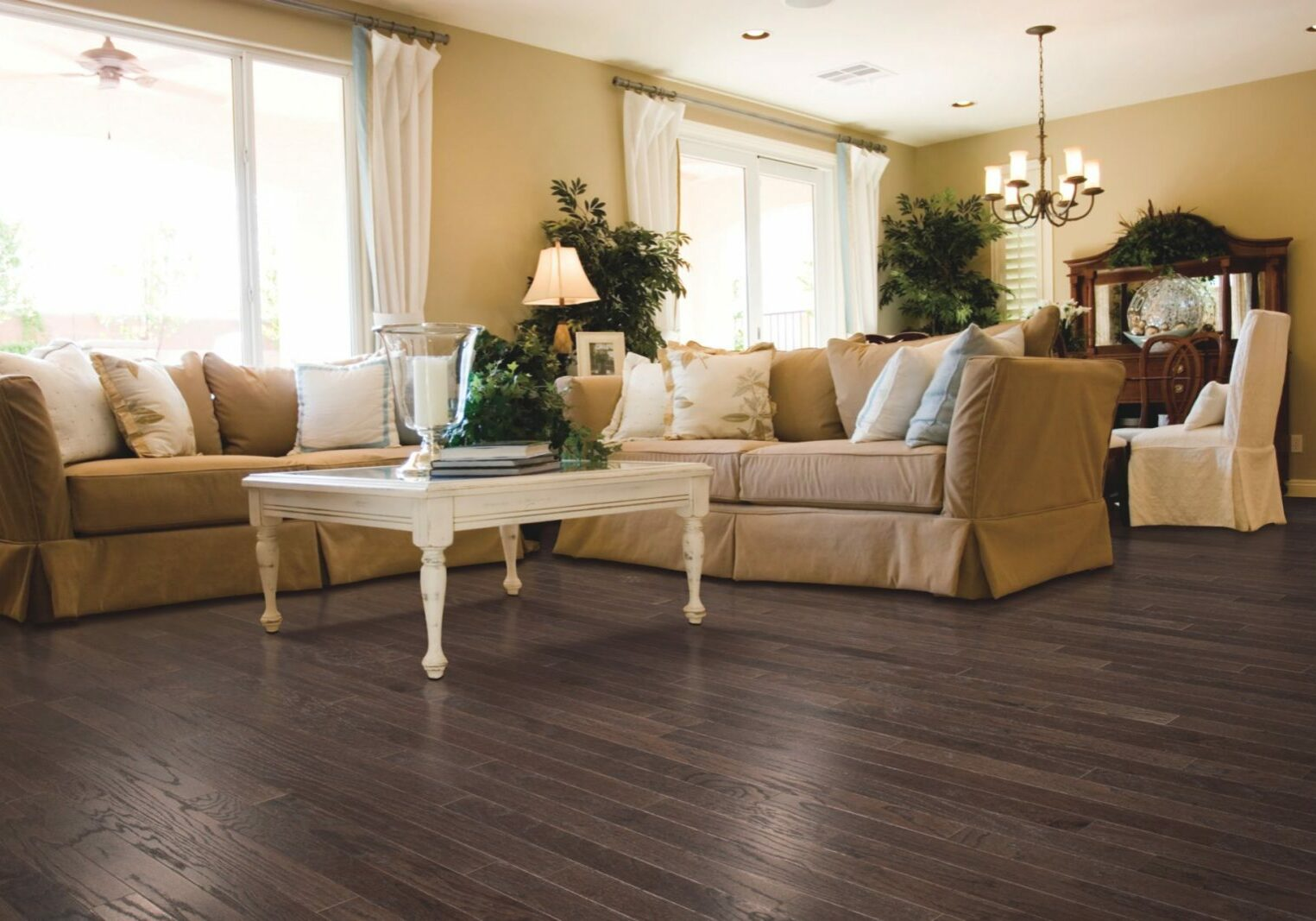 Karastan Flooring Of Living Room | IQ Floors